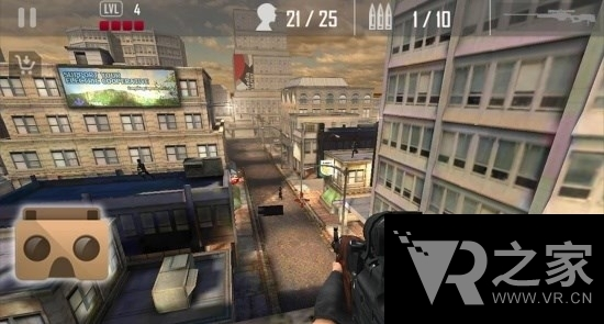 城市突擊隊射擊VR(VR Urban Commando Shooting Pro)