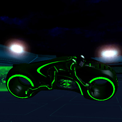梦幻摩托车(Tron Light Cycles)