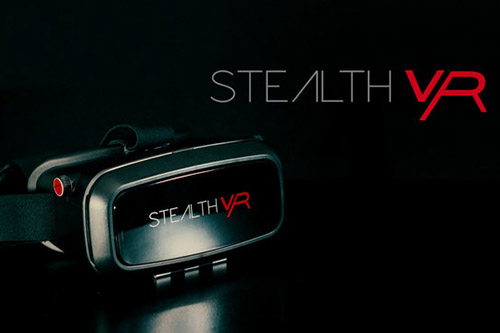 对抗Gear VR?STEALTH VR正式起售