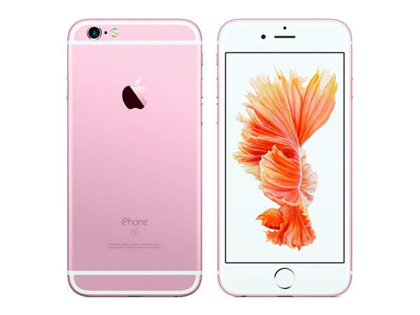 iPhone 6s 64GB 玫瑰金
