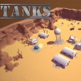 坦克二人演示版(Tanks- 2 player Unity Demo)