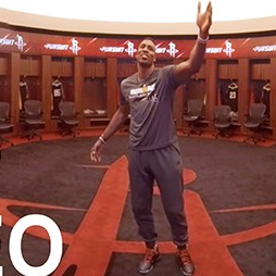 霍华德更衣室(Houston Rockets Locker Room Tour with Dwight Howard)