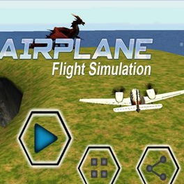 模拟飞行游戏(VR Airplane Flight Simulation)