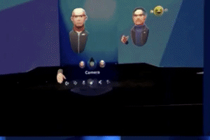 "一览Magic Leap One社交VR应用""Avatar Chat""演示效果"